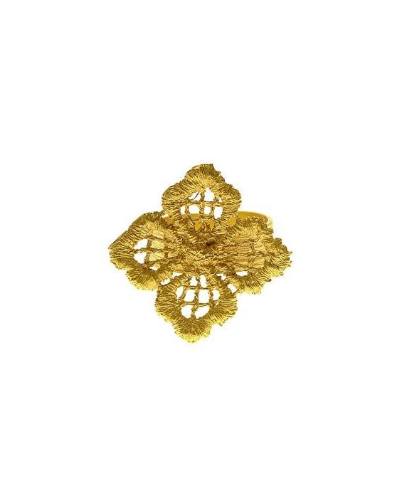 CATHERINE BIJOUX 'LACE' RING - GOLD