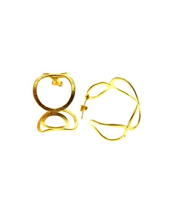 Catherine Bijoux 'Hoop' Earrings - Gold 555555555