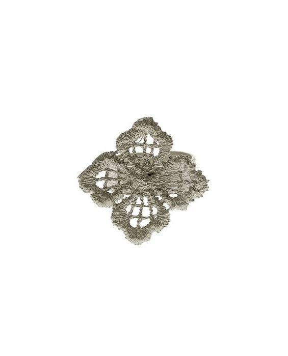 CATHERINE BIJOUX 'LACE' RING - SILVER