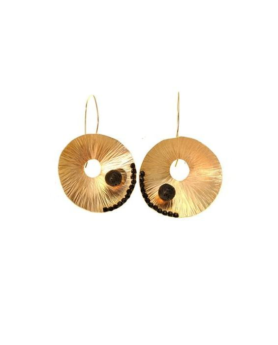 CATHERINE BIJOUX EARRINGS - BLACK