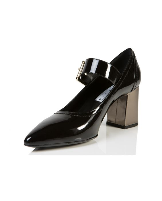Bruglia 'Saint' Patent Leather Pump - Black