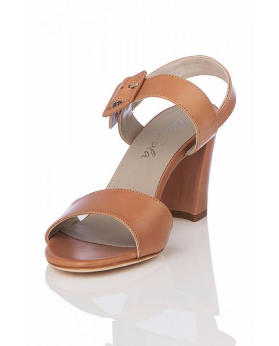 De-Sola Leather Sandal