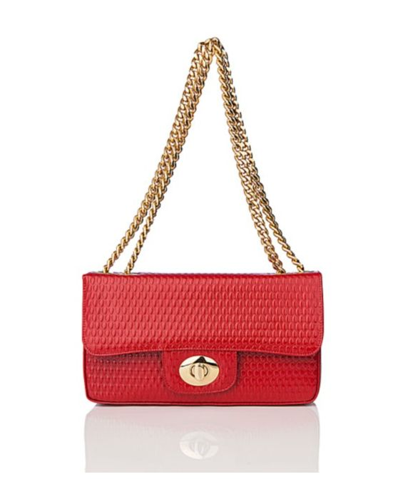 GIORDANO - CHIC SHOULDER CHAIN STRAP - RED