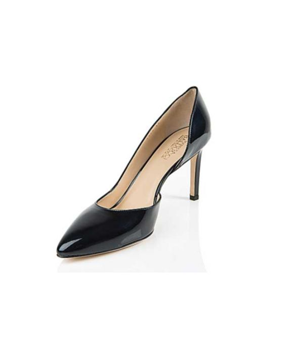 Rebecca Balducci - Navy Blue Half-d'Ordsay Leather Pump