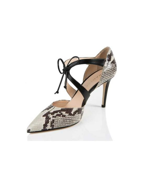 Chantal 1969 - Python Printed Leather Pump