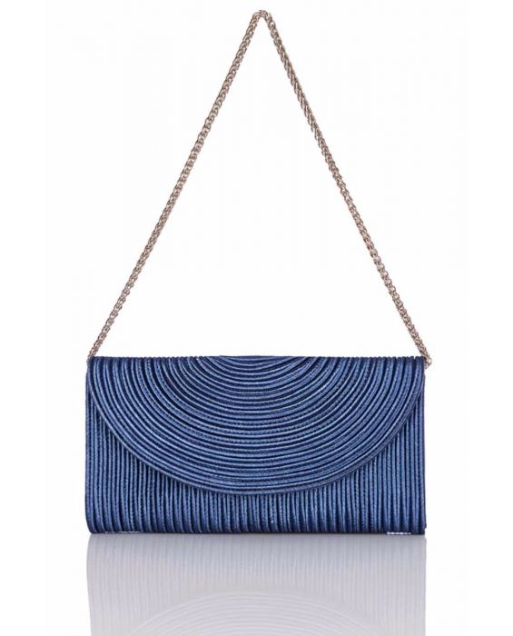 Chiarap 'Cord' Clutch - Blue