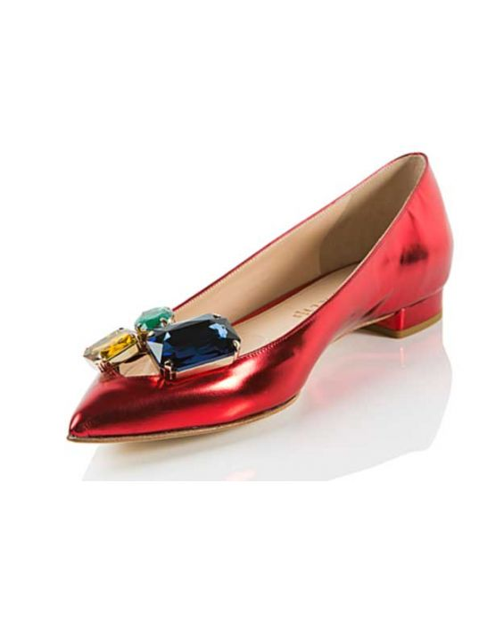 Chantal 1969 - Specchio Leather Pump - Malboro