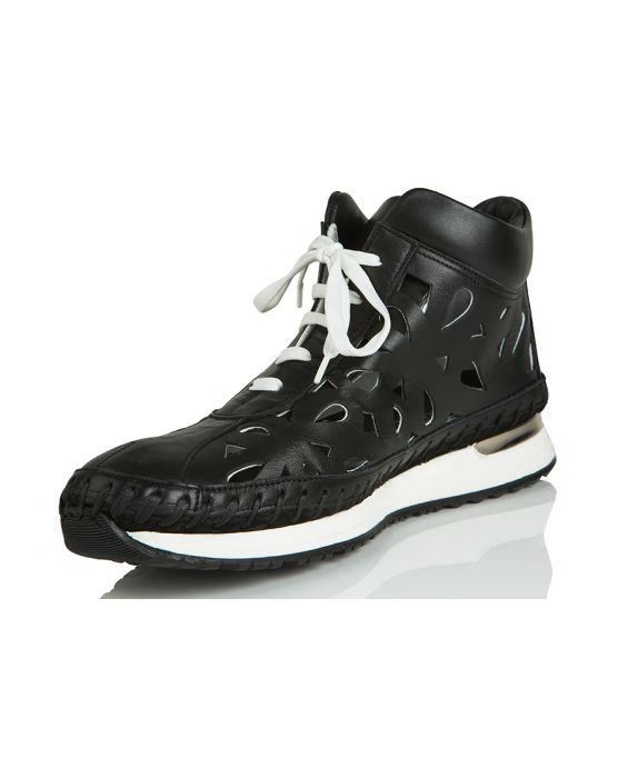 Alex Mercury 'Sara' Laced Sneaker - Black
