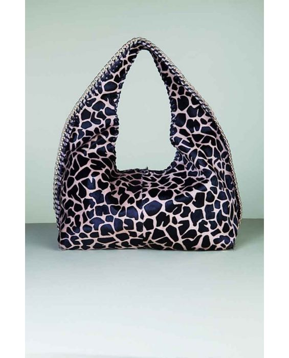 Fontanelli - Pony Skin in Leopard Print - Brown/Black