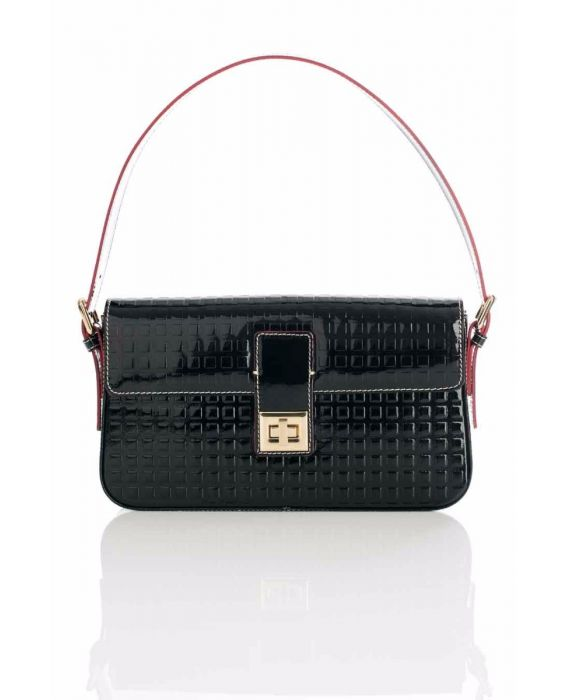 ARCADIA '3590' SHOULDER BAG - BLACK