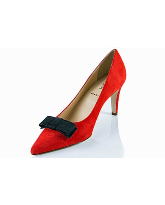 K.Spin - Suede Pointed Pump