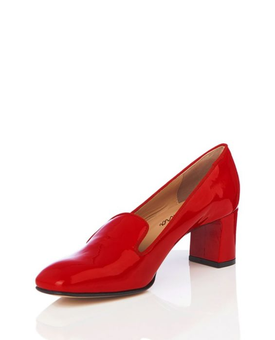 MARCO VENEXIA - PATENT LEATHER PUMP - RED
