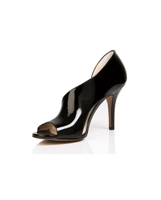 Danilo Di Lea 'Cut Out' Patent Leather Pump
