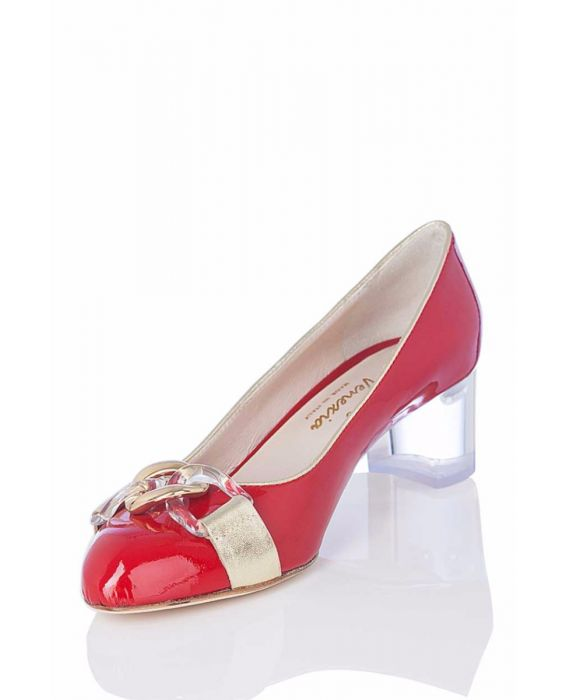Marco Venexia -Red Patent Leather Pump