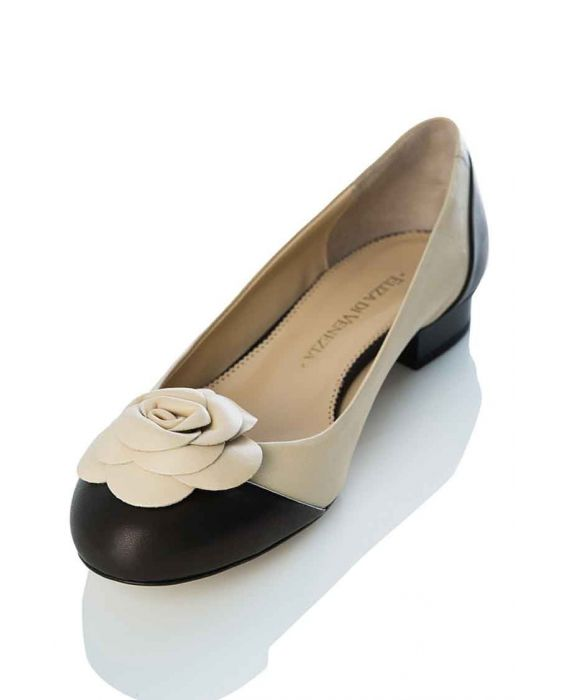 Eliza di Venezia Leather Pump