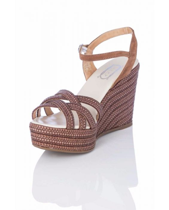 Carmen Saiz 'Criss Cross' Wedge