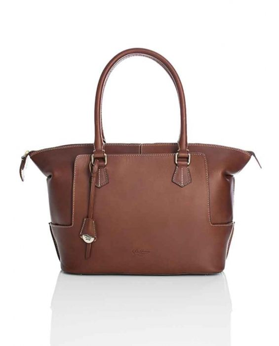 Boldrini Selleria 'Sellato' Tote - Dark Brown