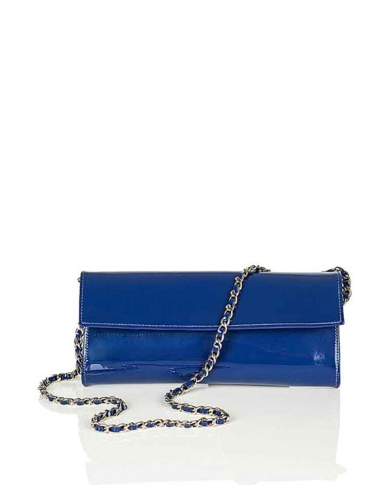 MINNOZZI '3150' SHOULDER BAG - ROYAL BLUE