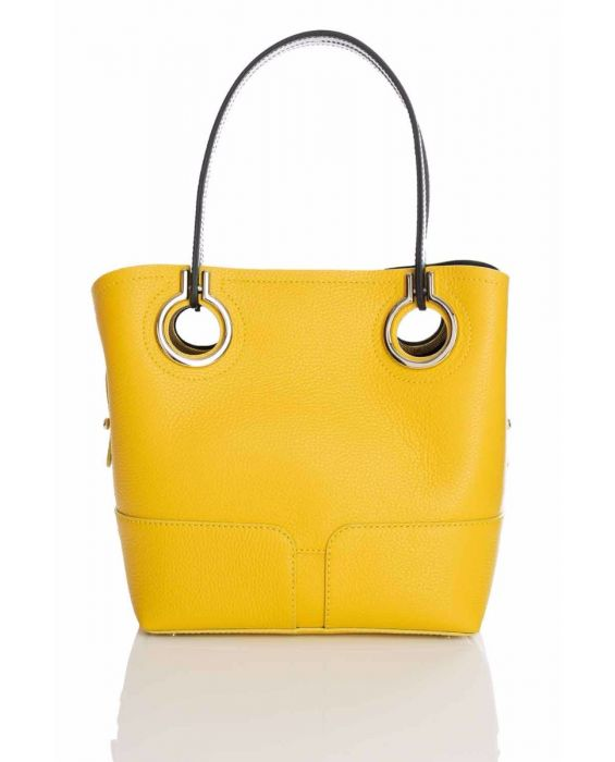 Gironacci '320' Tote - Yellow/Black