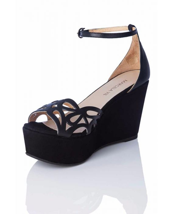 Marcela Yil 'Flirty' Platform Wedge Sandal