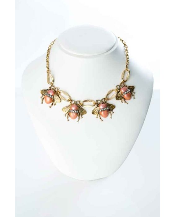 ORNELLA BIJOUX 'BEE' NECKLACE