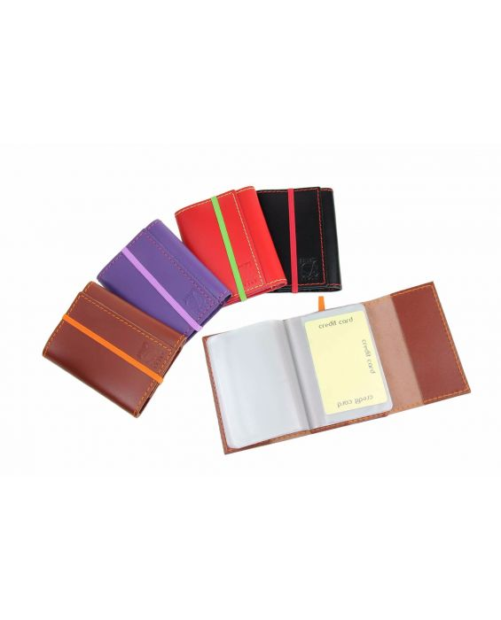 Dallaiti Leather Credit Card Wallet