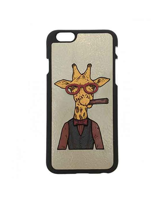 Eevye 'Larry' Leather Phone Case - Grey