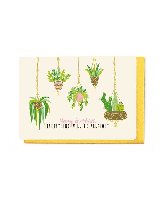 Enfant Terrible Hang In There Card