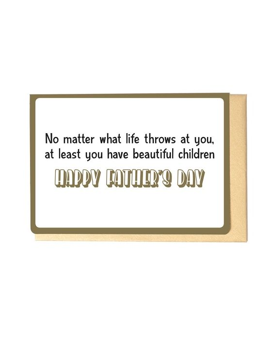 Enfant Terrible Father's Day Card