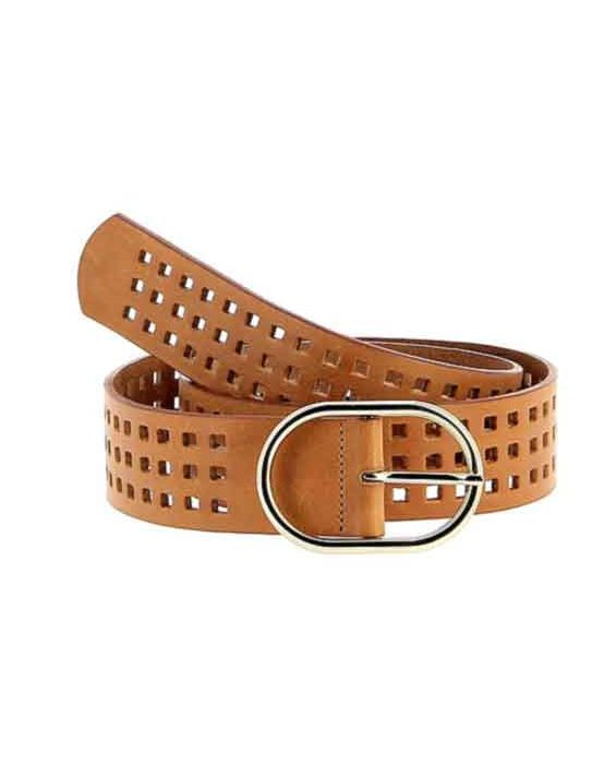 Herbert Frere Soeur 'La Cran' Leather Belt