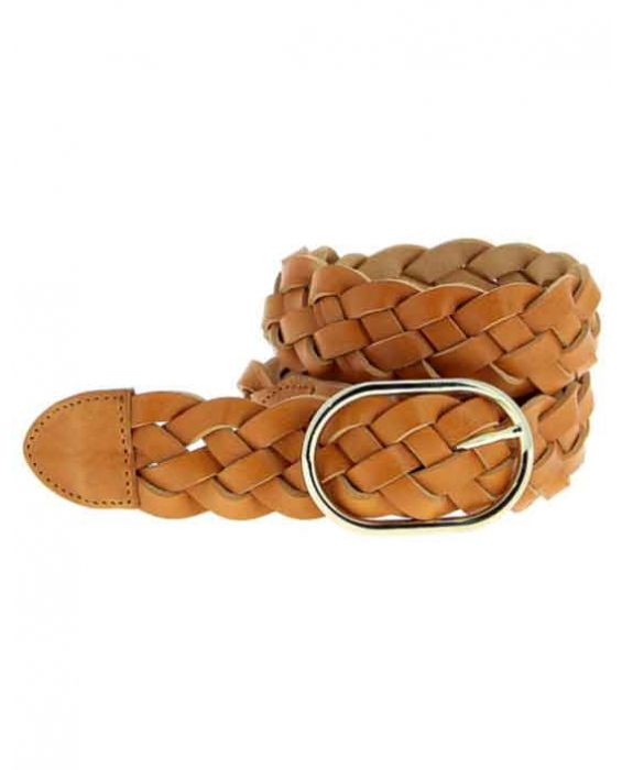 Herbert Frere Soeur 'La Temple' Leather Belt