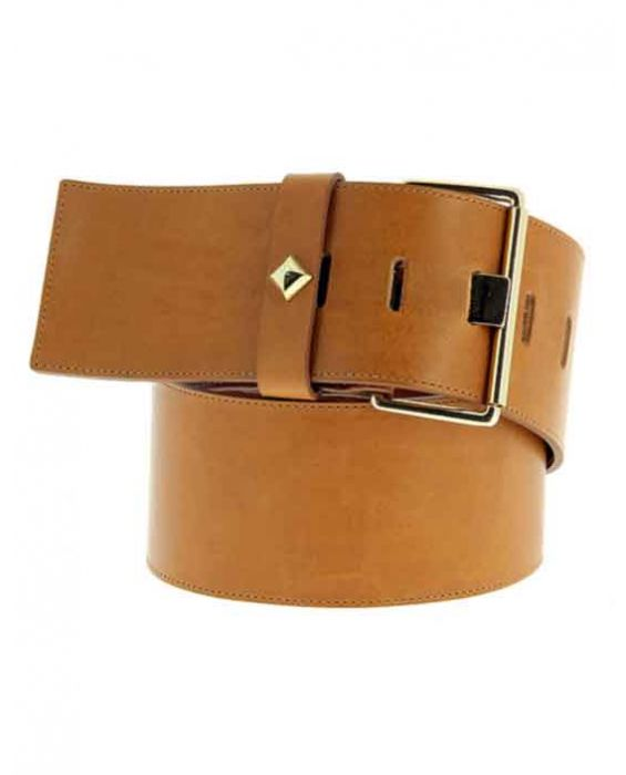 Herbert Frere Soeur 'La Honore' Leather Belt