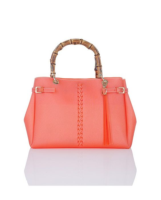 FONTANELLI - LUXURIOUS JELLY TOTE - ORANGE