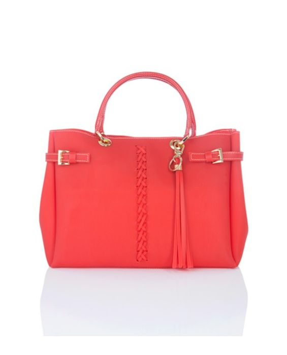 Fontanelli - Mini Jelly Tote Red