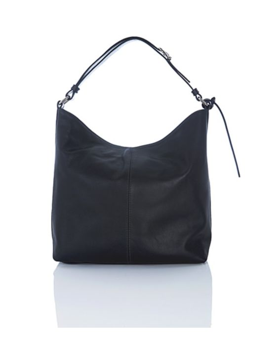 Frattassimo - 909 Black Leather Hobo