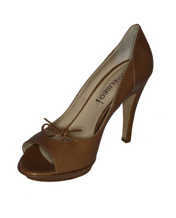 RITAELISEO PEEP-TOE PUMP