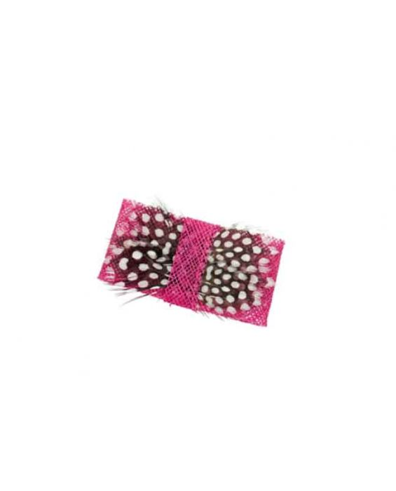 Remscollection Sinamay Hair Clip - Pink