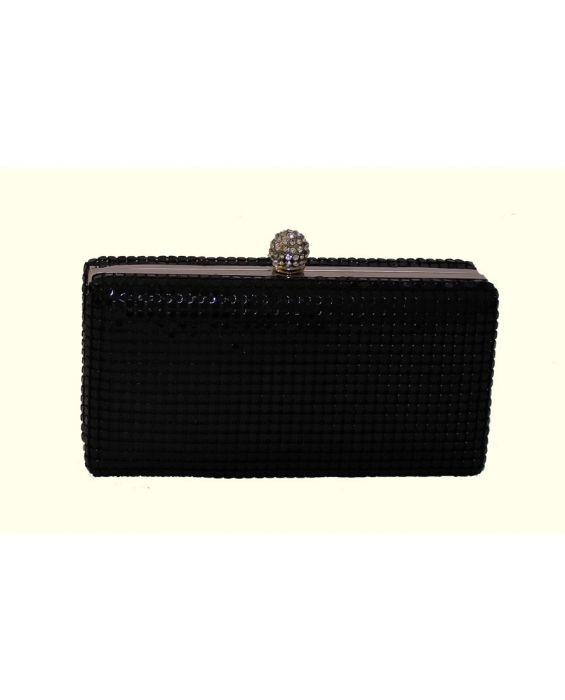 Claudia Canova Mesh Clutch Bag