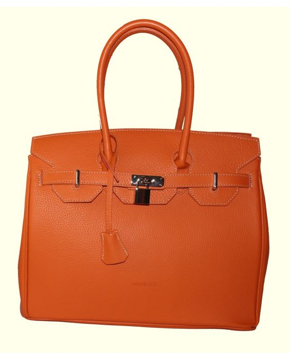 MINNOZZI TOTE LEATHER BAG