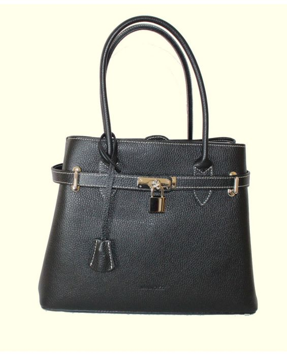 MINNOZZI LEATHER TOTE BAG