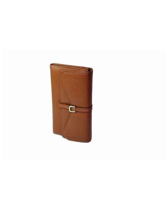 GOLUNSKI LEATHER WALLET - TAN