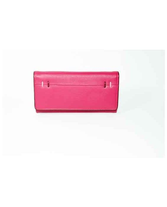GOLUNSKI - PINK LEATHER WALLET