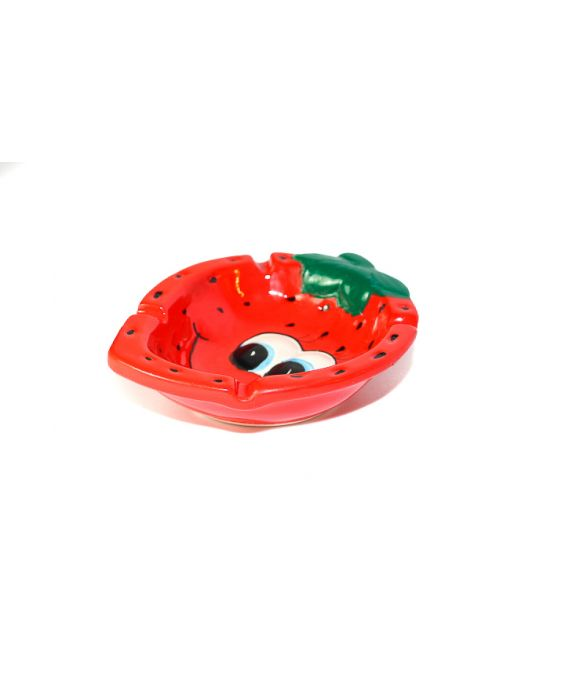 Aladdin 'Strawberry' Ceramic Ash Tray