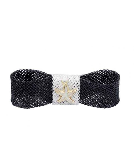 Remscollection Sinamay Hair Clip - Black