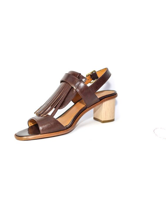 Cantini & Cantini 'Fringe' Leather Sandal