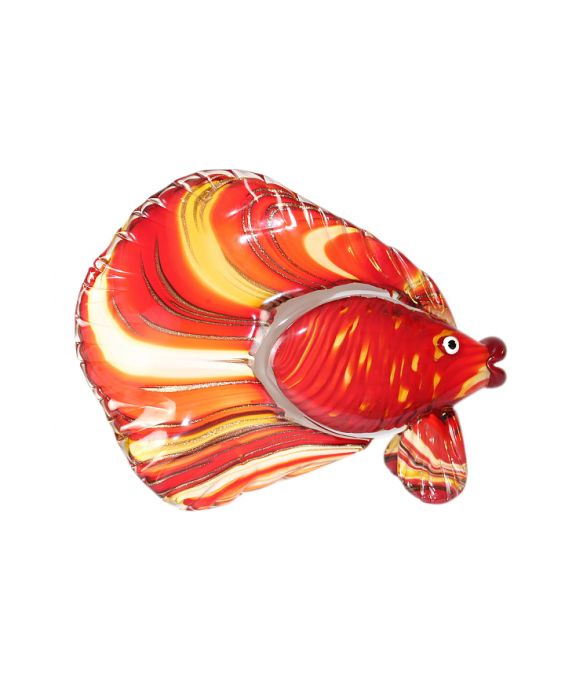 Mirho Glass Fish - Red / Yellow /Gold