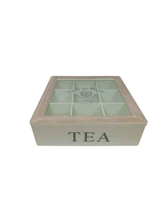 Pasqualetti Assorted Tea Bags Tidy Box