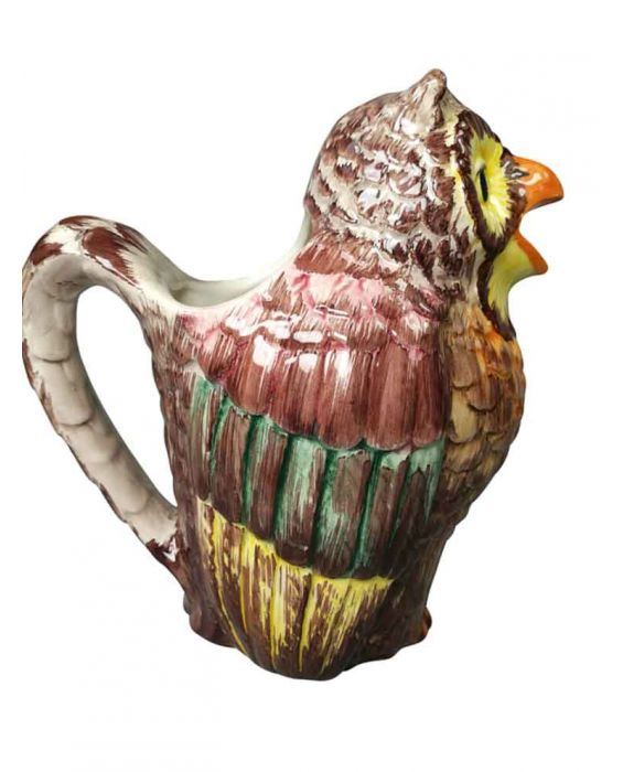 Ceramiche D'Arte Medium Ceramic 'Owl' Pitcher