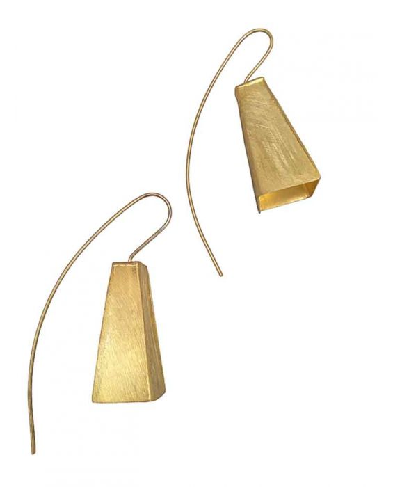 The Craftshop Gold Plated Sterling Silver Earrings