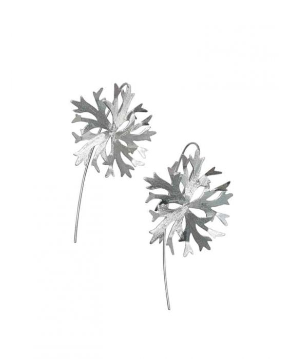 The Craftshop 'Icy' Sterling Silver Earrings - Silver